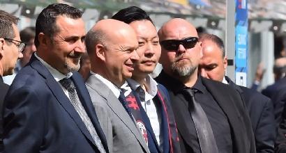 """Uefa, il presidente Ceferin """"preoccupato"""" per il futuro del Milan"""