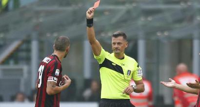 Milan, allarme rosso: nessuno espulso come i rossoneri