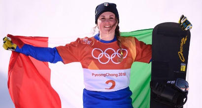 PyeongChang, secondo oro per Italia alle Olimpiadi: la Moioli vince nello snowboardcross