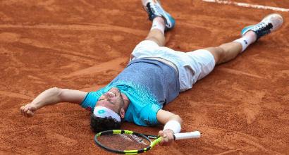 """Tennis, il day-after di Cecchinato: """"Non ho dormito"""". Messaggi da Djokovic e Buffon"""
