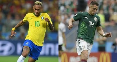 Mondiale 2018, torna in scena il Brasile: per la Seleçao l'incognita Messico. Il Belgio alla prova Giappone
