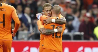 Olanda, Sneijder chiude la carriera da record in nazionale