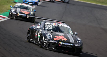 Porsche Carrera Cup Italia, Quaresmini domina gara 1 a Vallelunga