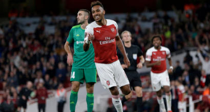 Europa League, prima giornata: poker dell'Arsenal, pari tra Olympiacos e Betis