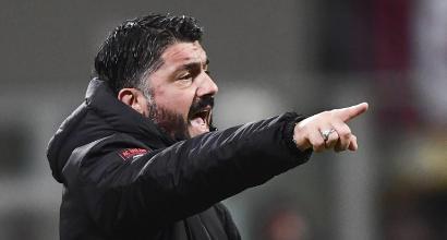 Milan, Gattuso ci mette la faccia: