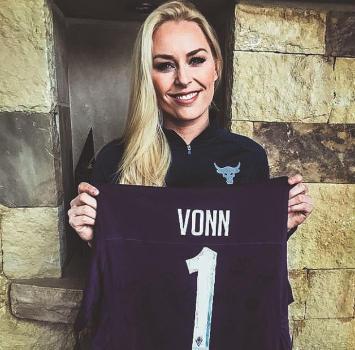 Vonn, operazione e regalo dalla Fiorentina