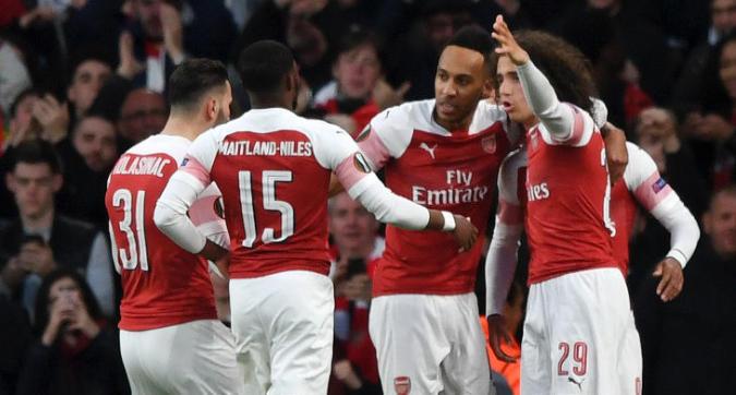 Europa League: l'Arsenal vince in rimonta, buon pareggio per il Chelsea di Sarri