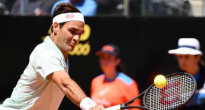 Tennis, Masters 1000 Roma: Federer, Nadal e Djokovic ai quarti di finale