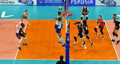 Volley, Nations League: l'Italia batte la Corea del Sud e comanda la classifica