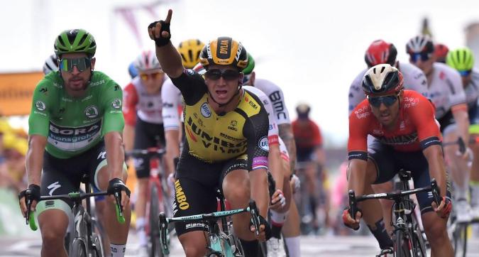 Tour de France: Groenewegen vince in volata, Ciccone ancora in giallo