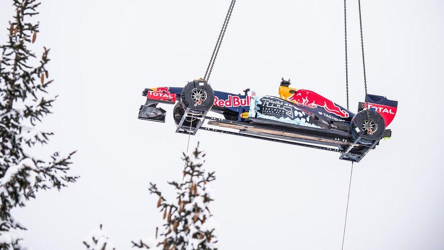 Red Bull, show sulla neve