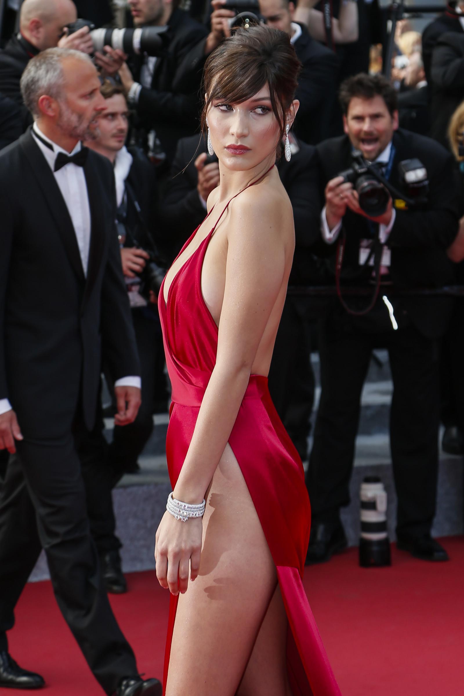 Bella Hadid osa a Cannes