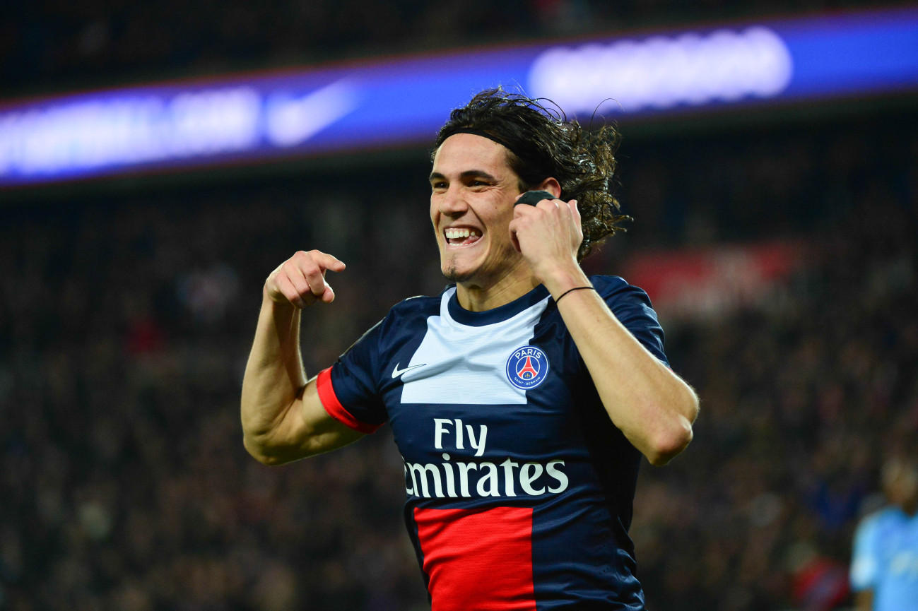 Edinson Cavani, 112 gol in Ligue 1