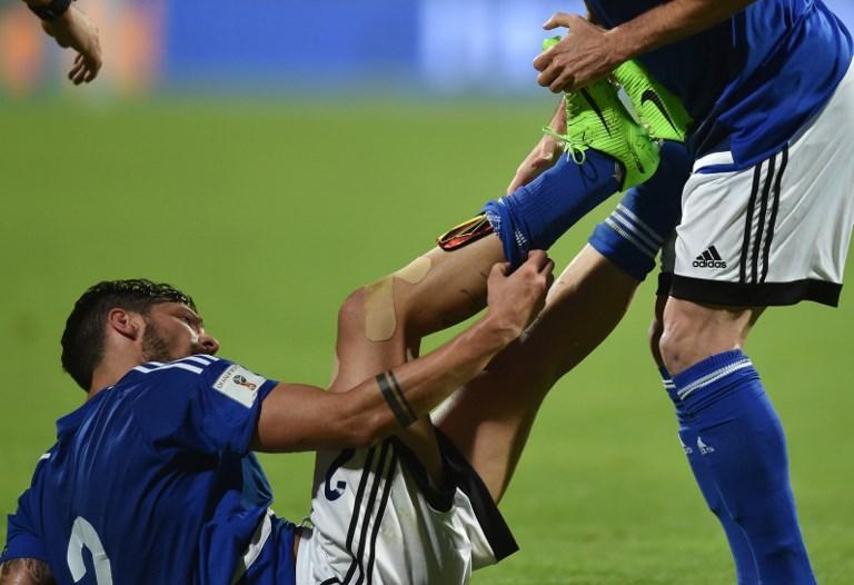 San Marino è la squadra con il ranking Fifa più basso al via (203).