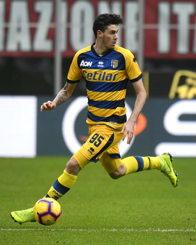 Alessandro Bastoni - Di proprietà dell'Inter è in prestito al Parma
