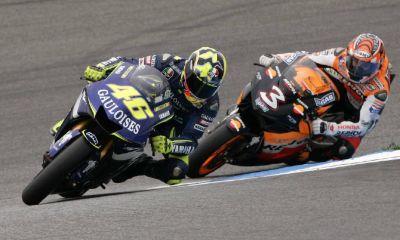 Rossi e Biaggi (LaPresse)