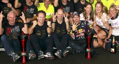 La festa del team Red Bull (Reuters)