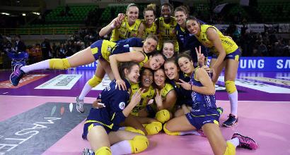 Volley, A1 donne: Novara vince al quinto, Conegliano resta da sola