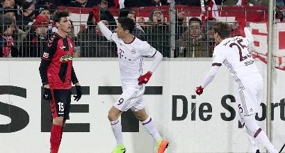 Bundes, Bayern campione d'inverno