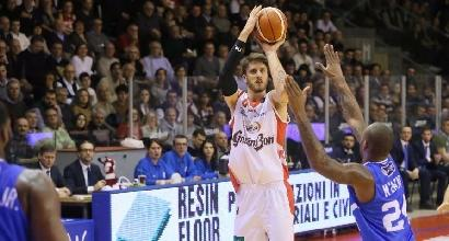 Basket, Serie A: Brindisi ko, Reggio Emilia si rialza