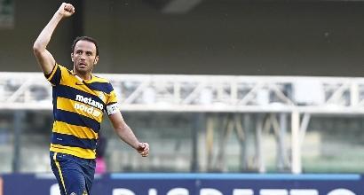 Serie B, Novara-Verona 2-2: magia Pazzini in extremis