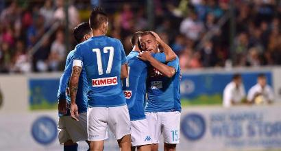 De Laurentiis lancia il Napoli verso lo scudetto: