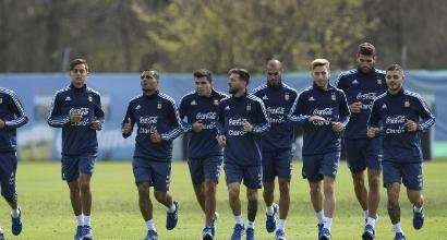 Argentina, Sampaoli manda Icardi e Dybala in panchina