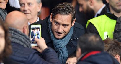 """Roma, Totti: """"Sosterremo Di Francesco fino alla fine"""". E sul derby di Milano..."""