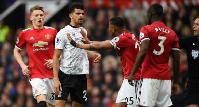 Premier League: Manchester United batte Liverpool, secondo posto blindato