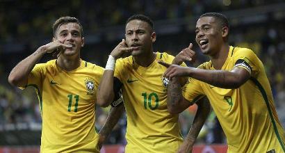 Brasile, i 23 convocati da Tite per il Mondiale: c'è Neymar, Alex Sandro fuori