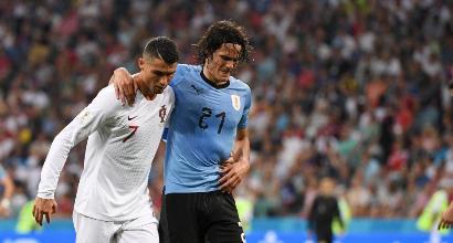 Mondiali 2018, Uruguay: edema al polpaccio per Cavani, Francia a forte rischio