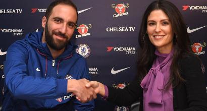 Chelsea, Sarri ritrova Higuain: ufficializzato l'ingaggio