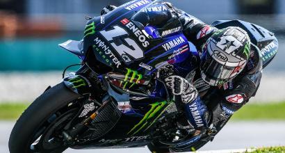 Test MotoGP Sepang, giorno 2: super tempo di Viñales, Dovizioso quarto