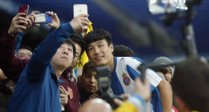 Villarreal-Espanyol, 40 milioni di cinesi incollati alla tv per guardare Wu Lei
