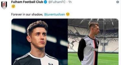Il Fulham prende in giro la nuova maglia della Juventus su Twitter