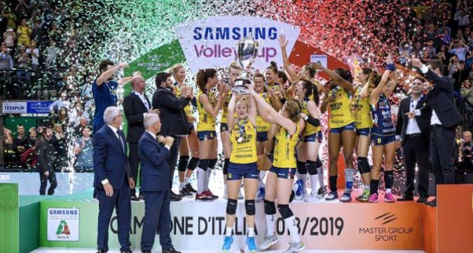 Volley, playoff: Conegliano è campione! Novara cede al tie break