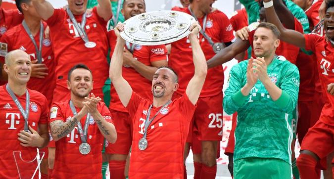 Bundesliga: Bayern campione