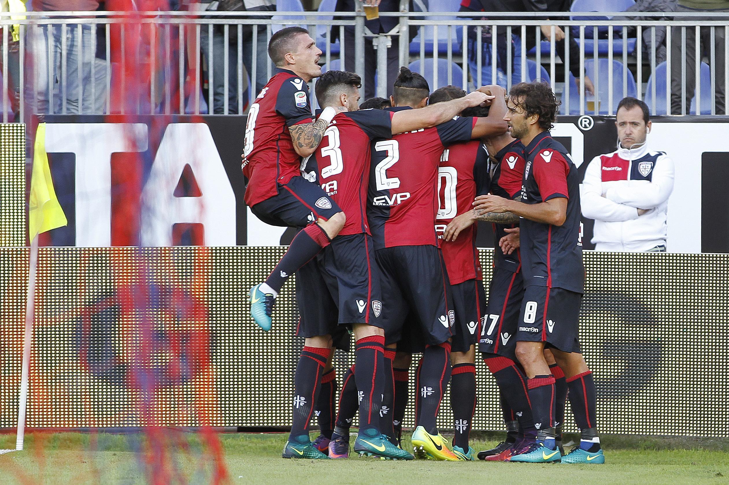 Serie A: il Cagliari vola con Sau