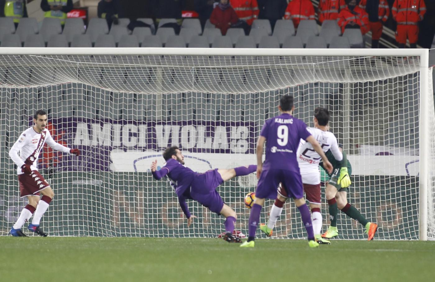 Serie A: Belotti rimonta la Fiorentina