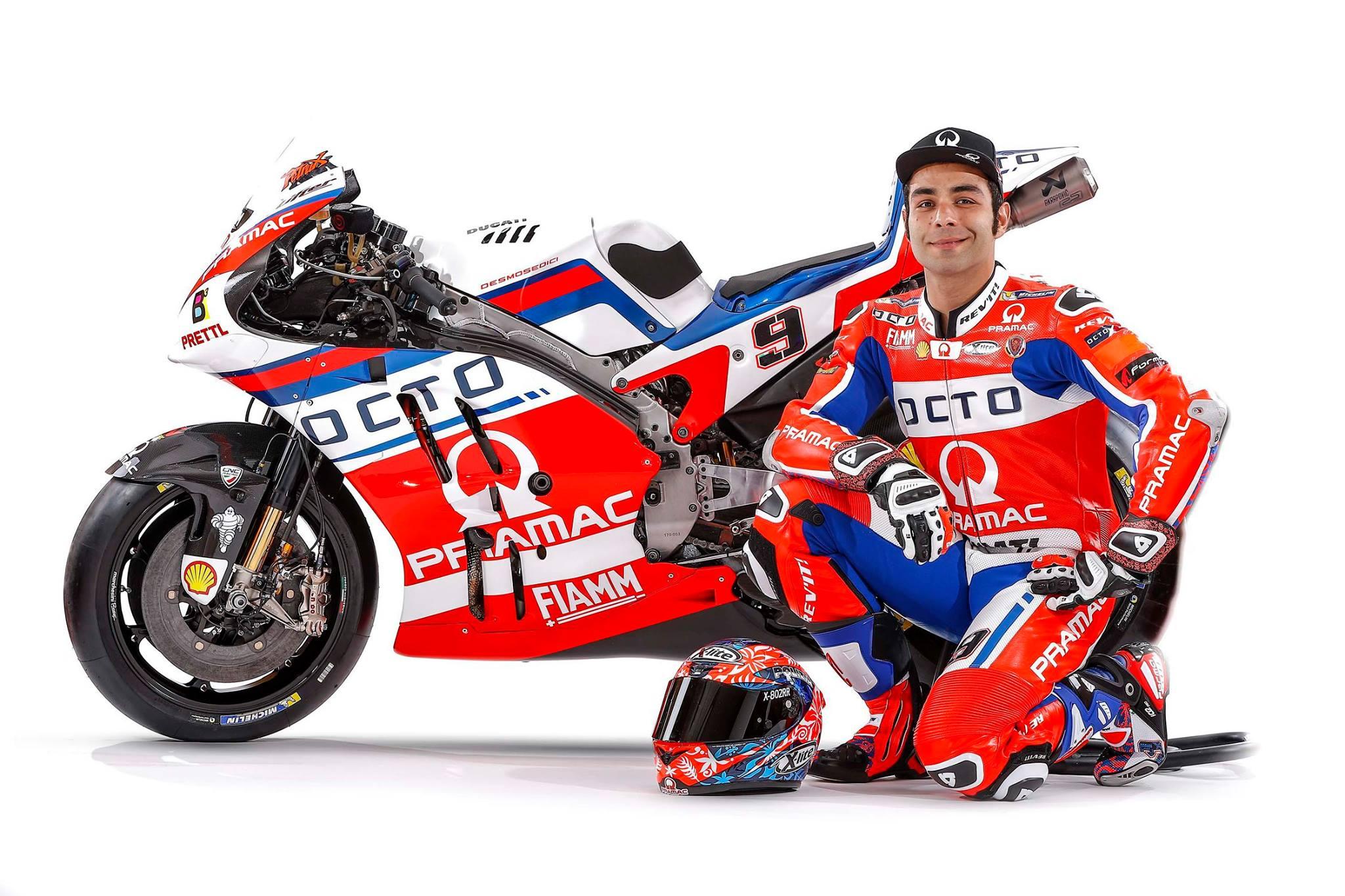 MotoGP, ecco il team Octo Pramac Ducati