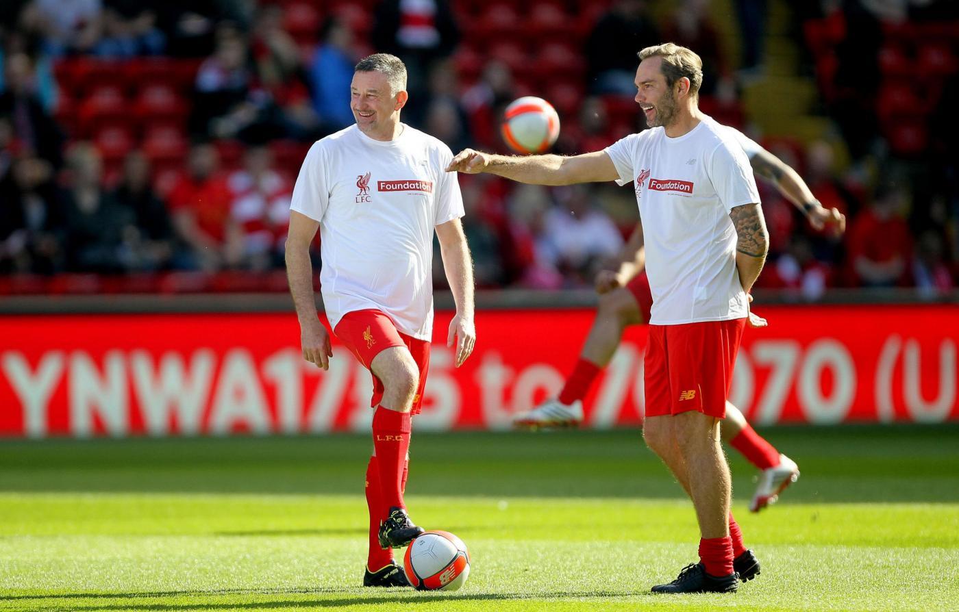 Legends, Liverpool-Real Madrid 4-3; Gerrard segna ad Anfield