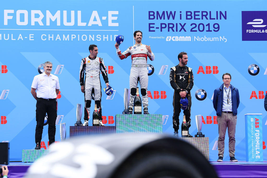 A Berlino successo del brasiliano nel decimo round del Mondiale di Formula E