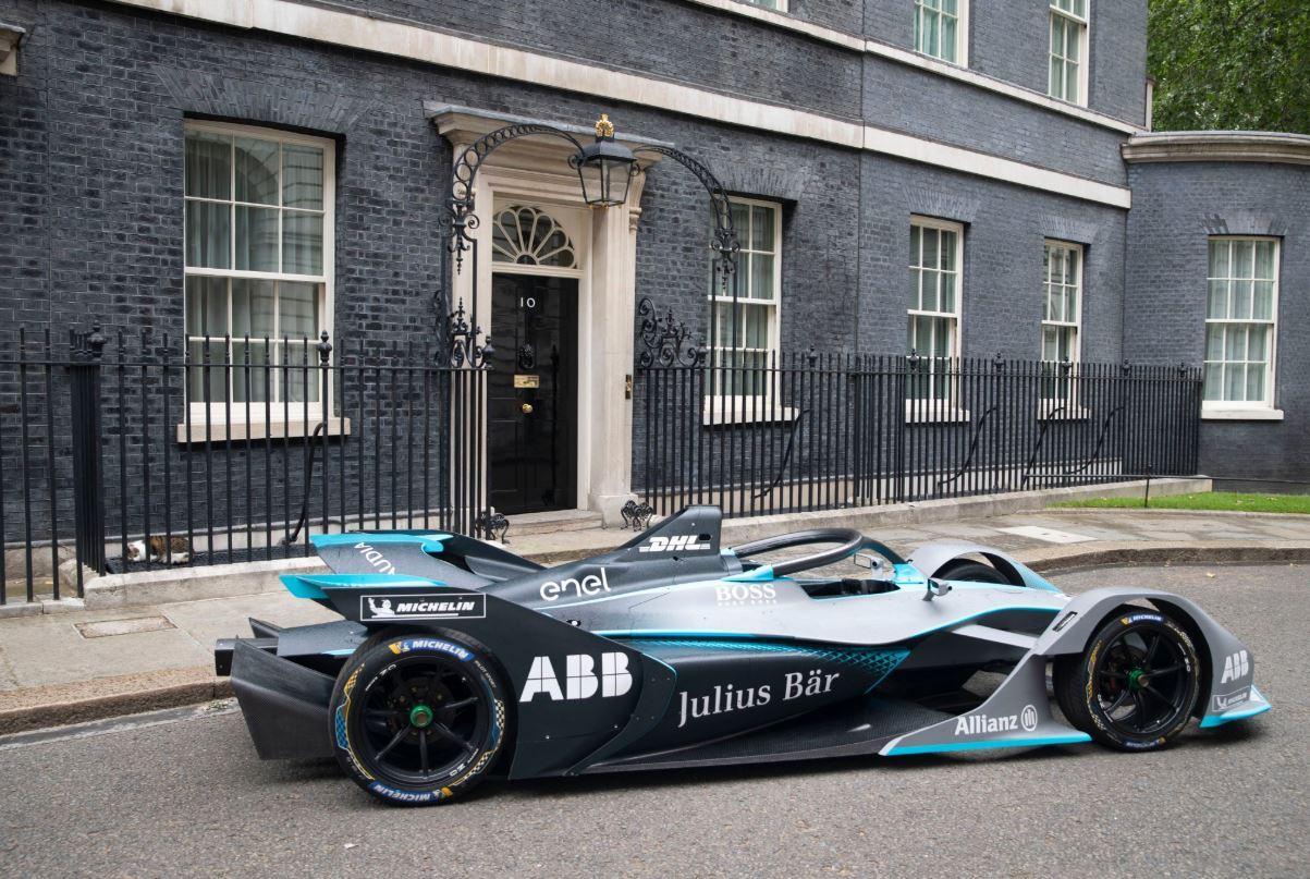 La Formula E sbarca a Downing Street