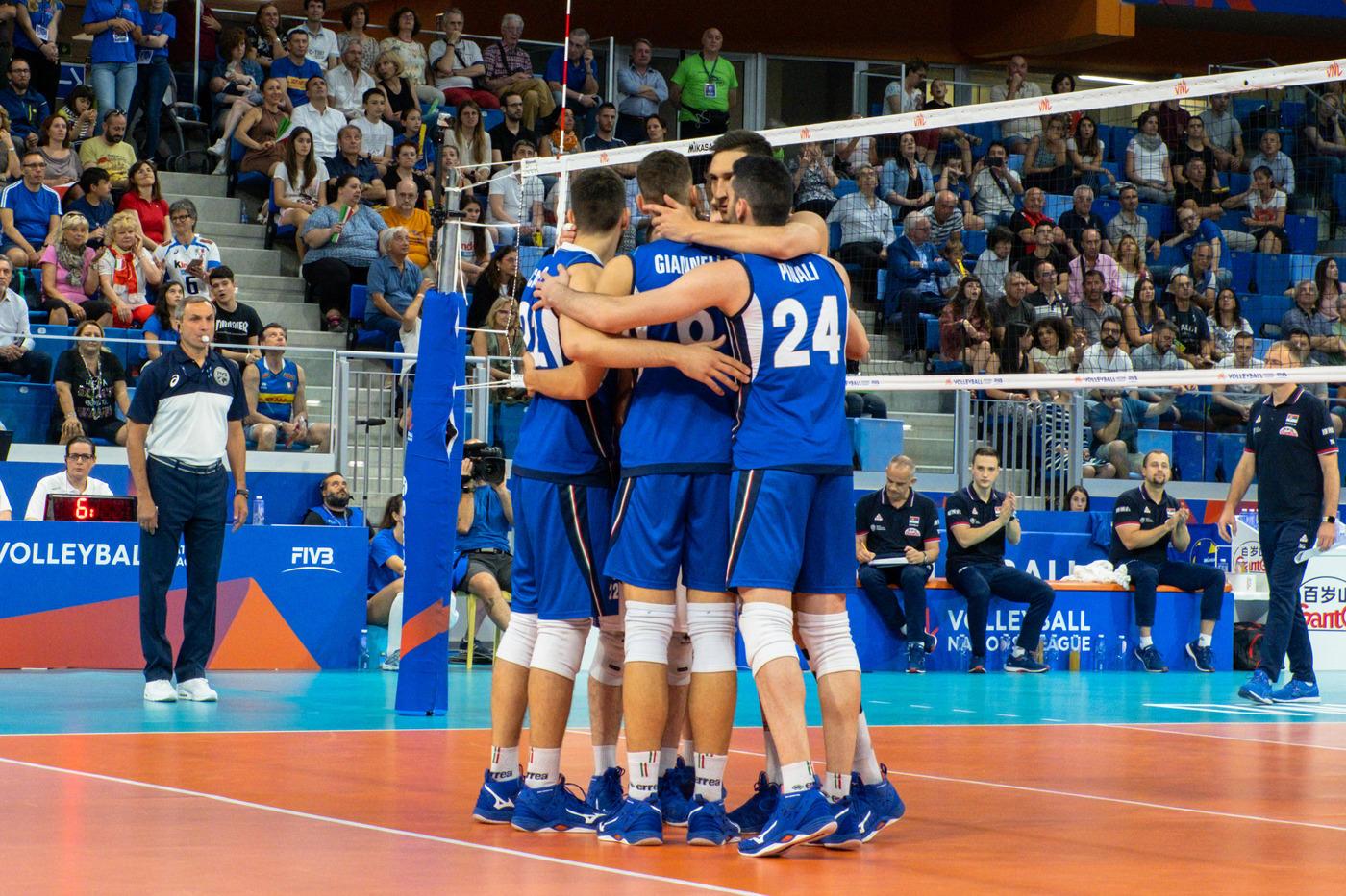 L'Italvolley batte 3-0 la Serbia in un match di Nations League maschile
