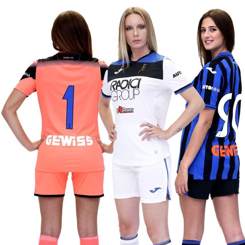 Atalanta, presentate le nuove maglie 2019-2020   Foto - Sportmediaset
