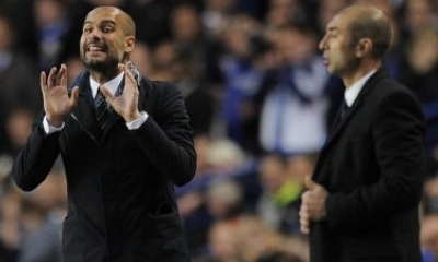 Di Matteo e Guardiola, AFP