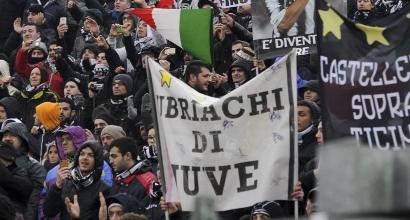 Tifosi Juve a  Bergamo, LaPresse