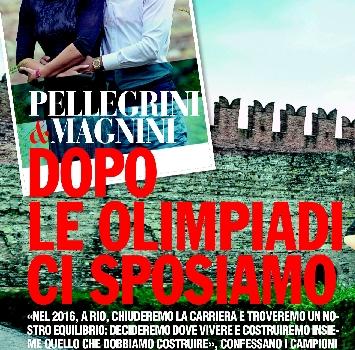 """La Pellegrini e Magnini si sposano: """"Matrimonio dopo le Olimpiadi"""""""