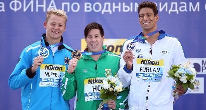 il podio di Kazan, Afp