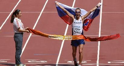 Atletica, Mondiali Pechino: 50 km di marcia, trionfa Toth